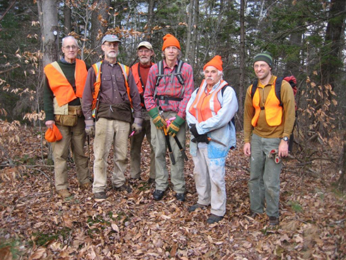 Some of WHPA's dedicated and skilled trail workers